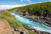 Hvita river — Stock Photo