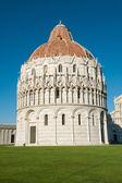 Baptistery in Pisa — Stock Photo