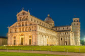 Pisa Cathedral and Leaning Tower  — Stock Photo