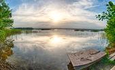 Sunset over Kanieris — Stock Photo