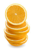 Orange stack — Stock Photo
