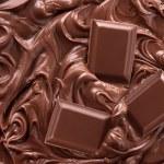 Постер, плакат: Melted Chocolate Background