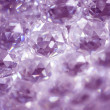 Crystals abstract background — Stock Photo