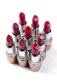Variation color of lipstick — Stock Photo