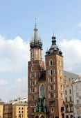 Krakow tower town hall — Stock Photo