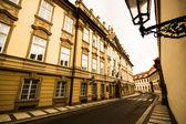 Prague street — Stock Photo