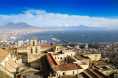 Gulf of Naples and Mount Vesuvius — Stock Photo