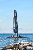 Energy Team Catamaran — Stock Photo
