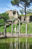 Villa di Adriano ruins in Tivoli — Stock Photo