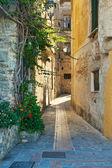 Acciaroli typical alley — Stock Photo