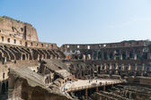 The Colosseum ruins — Stock Photo