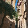 Acciaroli typical alley — Stock Photo