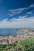 Naples cityscape and waterfront, Italy — Stock Photo