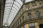 Gallery Umberto, Naples, Italy — Stock Photo
