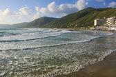 Acciaroli village, Cilento Coast, southern Italy — Stock Photo