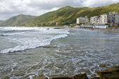 Acciaroli village beach, Cilento Coast, southern Italy — Stock Photo