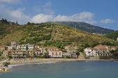 Acciaroli village, southern Italy — Stock Photo