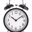 Alarm clock with the wrong dial — Stock Photo