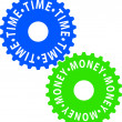 Time-money — Imagen vectorial