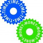 temps-argent — Vecteur
