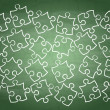 Royalty-Free Stock Vector Image: Disorderly puzzle pieces