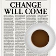 Change will come — Imagen vectorial