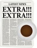 Extra!!! — Stock Vector