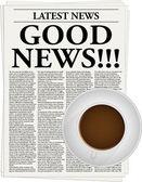 Good news — Stock Vector