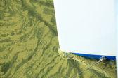 Bug eines schiffes erstellt wake-wasser — Stockfoto