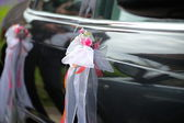 The elegant car for a wedding celebration — Stock Photo