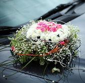 L'auto elegante per una festa di nozze — Foto Stock