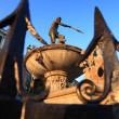 Fountain Neptun in Gdansk Danzing, Poland — Stock Photo #14101010