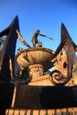 Fontein van neptun in gdansk danzing, polen — Stockfoto