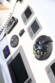 Sailboat yacht detail. Yachting compass — 图库照片