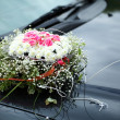 The elegant car for a wedding celebration — Stock Photo #14559505