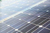 Photovoltaic panels - solar energy concept — ストック写真