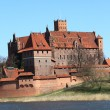 The old castle in Malbork - Poland. — Stock Photo #15108921