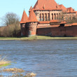 The old castle in Malbork - Poland. — Stock Photo #19198473