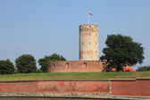 Famous Wisloujscie fortress in Gdansk, Poland — Stock Photo