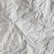 Stock Photo: Crimp White Paper texture sheet