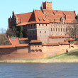 The old castle in Malbork - Poland. — Stock Photo #24603491