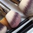 Make-up brushes - beauty treatment — Stock Photo #26222193