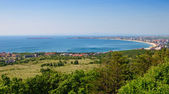 View to Sunny Beach and Nessebar — Stock Photo
