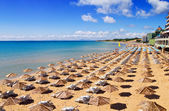 South Beach of Nessebar in summer — Stock Photo