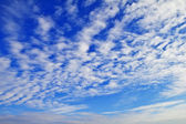 Clouds in the sky — Stock Photo