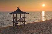 Stacja ratownik na plaży — Zdjęcie stockowe