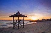 Beach sunset — Stock Photo