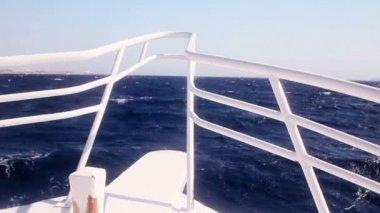 Naso yacht — Video Stock