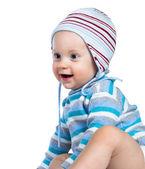 Niño en ropa de invierno — Foto de Stock