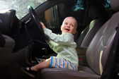 Piccolo autista — Foto Stock